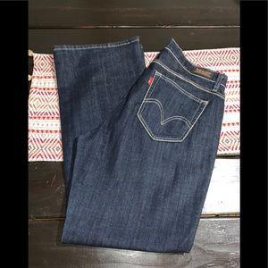 Levi's curvy boot cut jeans Sz 14